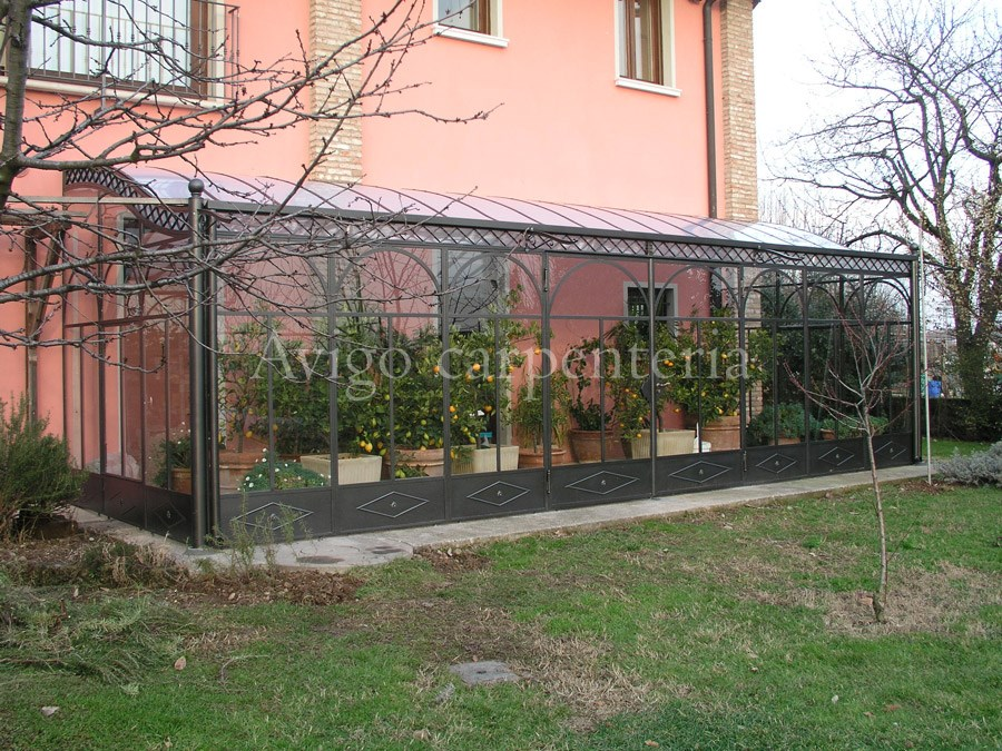 Affordable giardino duinverno with giardino d inverno - Giardino d inverno in terrazza ...
