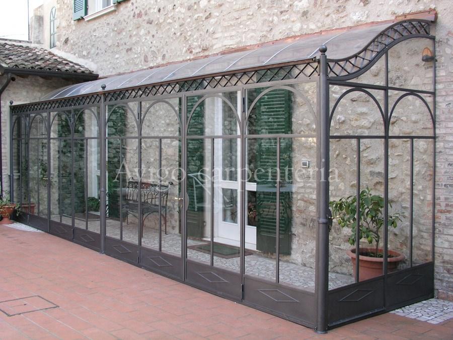 Su Giardini D Inverno Vetrate In Cristallo Infissi In Alluminio Pvc Pictures ...