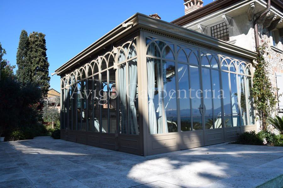 Casa Con Giardino Brescia : Giardino d inverno brescia lonato creazione n dettagli