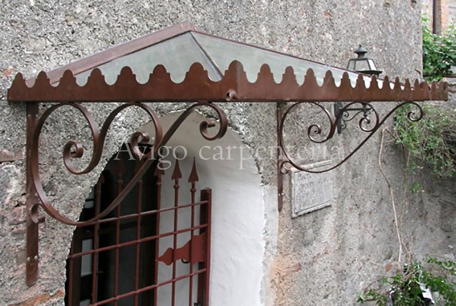 Malta per riparazioni pensiline in ferro battuto e vetro for Pensiline in ferro prezzi